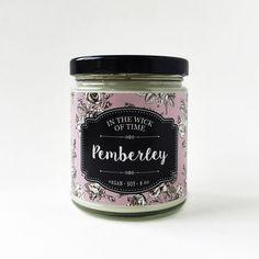 Pemberley Pride and Prejudice bougie de soja par IntheWickofTime