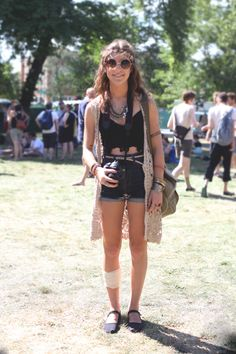 Festival Fashion From Pitchfork 2013: Our Favorite Looks