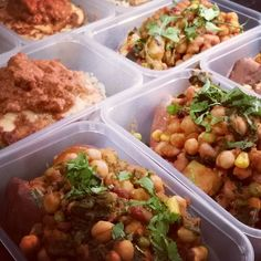 4 days of supa healthy and #vegan meals . Yum yimmmy