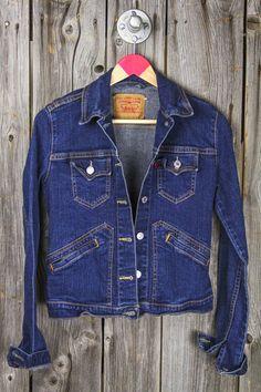 The ultimate timeless wardrobe staple—the denim jacket. Here's how Team Zoe likes to style it: http://rzoe.me/U2bW29E   Vintage Levi's Western Detail Denim Jacket
