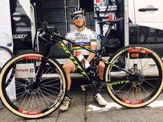 Scott Racing teases new 29″ full suspension race bike for Schurter?