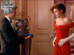"""Gorgeous movie diamonds we all love, from """"Pretty Woman"""" to """"How to Lose a Guy in 10 Days. Gorgeous Movie, Diana Memorial, Billy Zane, Fox Movies, Gentlemen Prefer Blondes, Richard Gere, Famous French, Picture Movie, Pink Gowns"""
