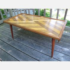 Inlaid Coffee Table now featured on Fab.  How could you not be in love with this baby