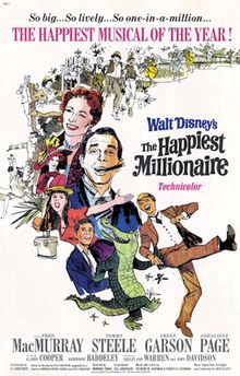 The Happiest Millionaire - 1967 - Poster.png