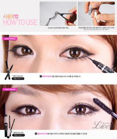 Lovely Gyaru Make-up Tutorial ~ Lioele Korea
