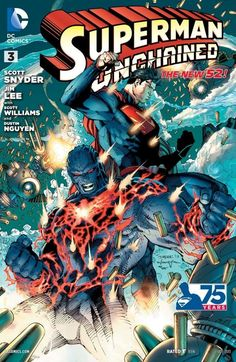 Superman Unchained #3 #SupermanUnchained #New52 #DC (Cover Artist: Jim Lee) On Sale: 8/21/2013