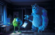 Randy Newman's heart-warming song, performed by John Goodman and Billy Crystal, won an Oscar in 2002 and a Grammy in Disney Monsters, Cartoon Monsters, Monsters Inc, Cartoon Characters, Disney Songs, Disney Movies, Disney Pixar, Mike And Sulley, Mike Wazowski