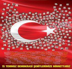 15 Temmuz Demokrasi Şehitlerinin isimleri | Gündem Haberleri