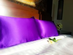 All our products designed from organic material. Elite Silk - Mulberry Silk bedding handcrafted from the finest natural silk. Silk Bedding, Mulberry Silk, Sleep Mask, Luxury Bedding, Home And Living, Bed Pillows, Pillow Cases, Fancy, Pure Products
