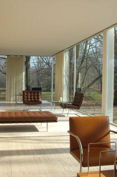 Classic Mies van der Rohe furniture