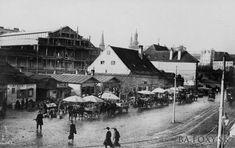 Budovu Starej tržnioce začali stavať v roku 1908 a otvorili ju v októbri 1910.
