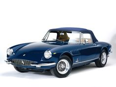 1967 Ferrari 330 GTS Maintenance of old vehicles: the material for new cogs/casters/gears/pads could be cast polyamide which I (Cast polyamide) can produce
