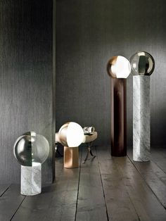 Jesuis table and floor lamps by Carlo Colombo for Penta / Summer Essentials: NEW must-have lighting designs - see more at http://modernfloorlamps.net/summer-essentials-new-must-have-lighting-designs/