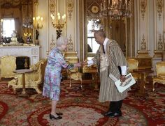 The late Ambassador Rudolf P. vonBallmoos meets Queen Elizabeth. May his soul rest in peace.