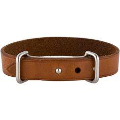Hermes Leather Bracelet (840 DKK) ❤ liked on Polyvore featuring jewelry, bracelets, hermes jewelry, leather jewelry, leather bangle, brown jewelry and hermes bangle
