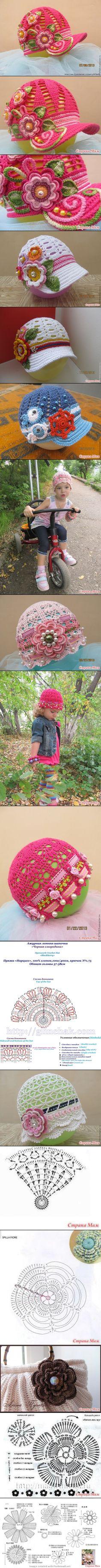 Kid hat crochet - created via http://pinthemall.net