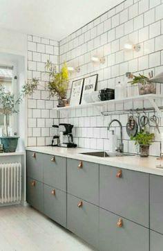 New Kitchen Shelves Metal Window Ideas Kitchen Cabinet Colors, Kitchen Colors, Kitchen Shelves, Kitchen Cabinets, Floors Kitchen, Grey Cabinets, Kitchen Island, Best Kitchen Sinks, New Kitchen