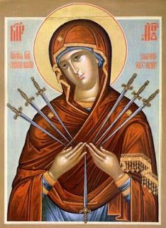 "Mother of God ""Softner of Evil Hearts"" Russain Orthodox icon. Traditional Panel Orthodox icon of Mother of God ""Softner of Evil Hearts"". Religious Images, Religious Art, Our Lady Of Sorrows, Queen Of Heaven, Jesus Christus, Byzantine Icons, Holy Mary, Blessed Virgin Mary, Orthodox Icons"