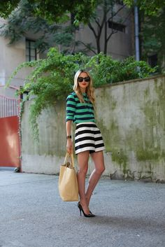 Summer Outfit Ideas: Looks to Copy Now   StyleCaster >> SAME OUTFIT 2 DIFFERENT COLORS in each separate creates this look.