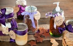 Homemade Gifts in Jars Made with Love