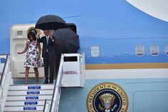 President Obama and his family land in Havana Cuba.  The presidential trip to Havana is the culmination of a three-year effort to restore ties to the island which sits 90 miles from Key West Florida but has long been off-limits for most American visitors.  Yuri Cortez/AFP/Getty  For more on the president's trip to Cuba:  cnnpolitics.com by cnnpolitics