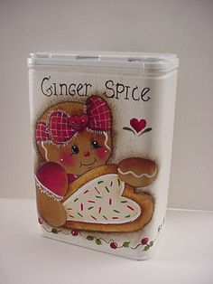 HP~~Gingerbread Sugar Cookie ~~ SPICE TIN