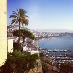 View from the Best Western Hotel Paradiso in Naples, Italy via @frencibello-#statigram