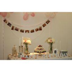 Mesa posta decorada aniversario birthday decor table vintage naked cake