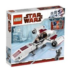 LEGO Star Wars Freeco Speeder (8085) by LEGO. $35.99. Includes Anakin Skywalker in special snow gear and Talz Chieftain with spear minifigures. 177 pieces. Freeco Speeder with opening cockpit and rear cargo compartment. Ground speeder from the ice planet. Brand new Clone Wars vehicle from episode Trespass (season 1). From the Manufacturer                Searching for the Separatist base, Anakin zooms over the frozen surface of the planet Orto Plutonia on his rug...