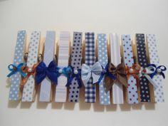 Lembrancinha de maternidade - fazer simples com laços e papel colorido
