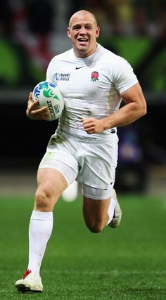 Mike Tindall, MBE (born 1978) Part of England's 2003 world cup winning team. Played 75 times for England, scoring 74 points.