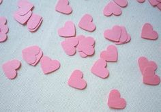 Items similar to Pink Hearts Confetti Count), Table Decor, Party Decor on Etsy Pink Hearts, Scrapbook Embellishments, For Your Party, Confetti, Special Events, Count, Sweets, Shapes, Unique Jewelry