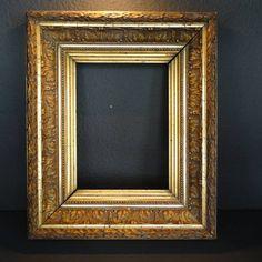 Goud vergulde lijst voor schilderij