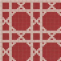 #Bisazza #Decorations Opus Romano Vienna Rosso | #Porcelain stoneware | on #bathroom39.com at 697 Euro/box | #mosaic #bathroom #kitchen