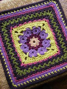 MES FAVORIS TRICOT-CROCHET: Tuto crochet : Carré granny