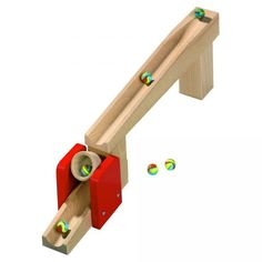 Ball Track Tilting Bucket - you could get some little engineers with toys like this! #oompatoys #habausa
