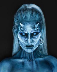 White Walker SFX Makeup