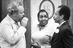 George Jefferson from the TV Show The Jeffersons - Sherman Hemsley Those Were The Days, The Good Old Days, Sherman Hemsley, Carroll O'connor, Archie Bunker, Great Comedies, All In The Family, First Tv, Interracial Couples