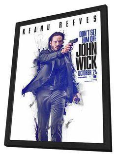 John Wick 11x17 Framed Movie Poster (2014)