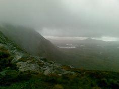 Atlantic mist, Connemara, Ireland