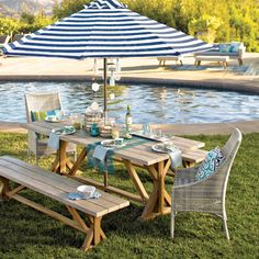 Bring maximum shade to your outdoor oasis with our exclusive umbrella canopies. With a variety of designs and colors to choose from, our assortment offers a brilliant way to customize and refresh the look of your space on a whim.
