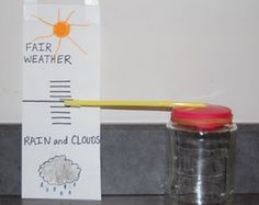 METEOROLOGIST- Making a barometer & weather station