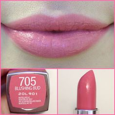 Maybelline Color Sensational Rebel Bloom lipstick in Blushing Bud