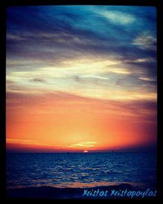 A magical sunset 🌇 on the beach 🌊 👌 ☺ 💖