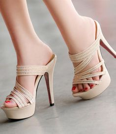 Womens Sandals, Black & Silver Sandals for Women Best Selling Page 5 High Heels Stiletto, Platform High Heels, Shoe Boots, Shoes Heels, Rhinestone Sandals, Womens High Heels, Wedding Shoes, Fashion Shoes, Casual Party