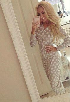 Teen selfie pajamas