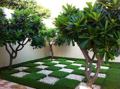 Chequer-board courtyard, The Trident, Gurgaon, India