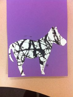 zebra craft!