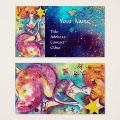 TAROTS OF THE LOST SHADOWS / THE STAR BUSINESS CARD #tarot #psychics #fineart #stars #cartomante #astrology #magic
