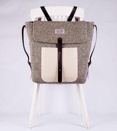 HARRIS TWEED backpack